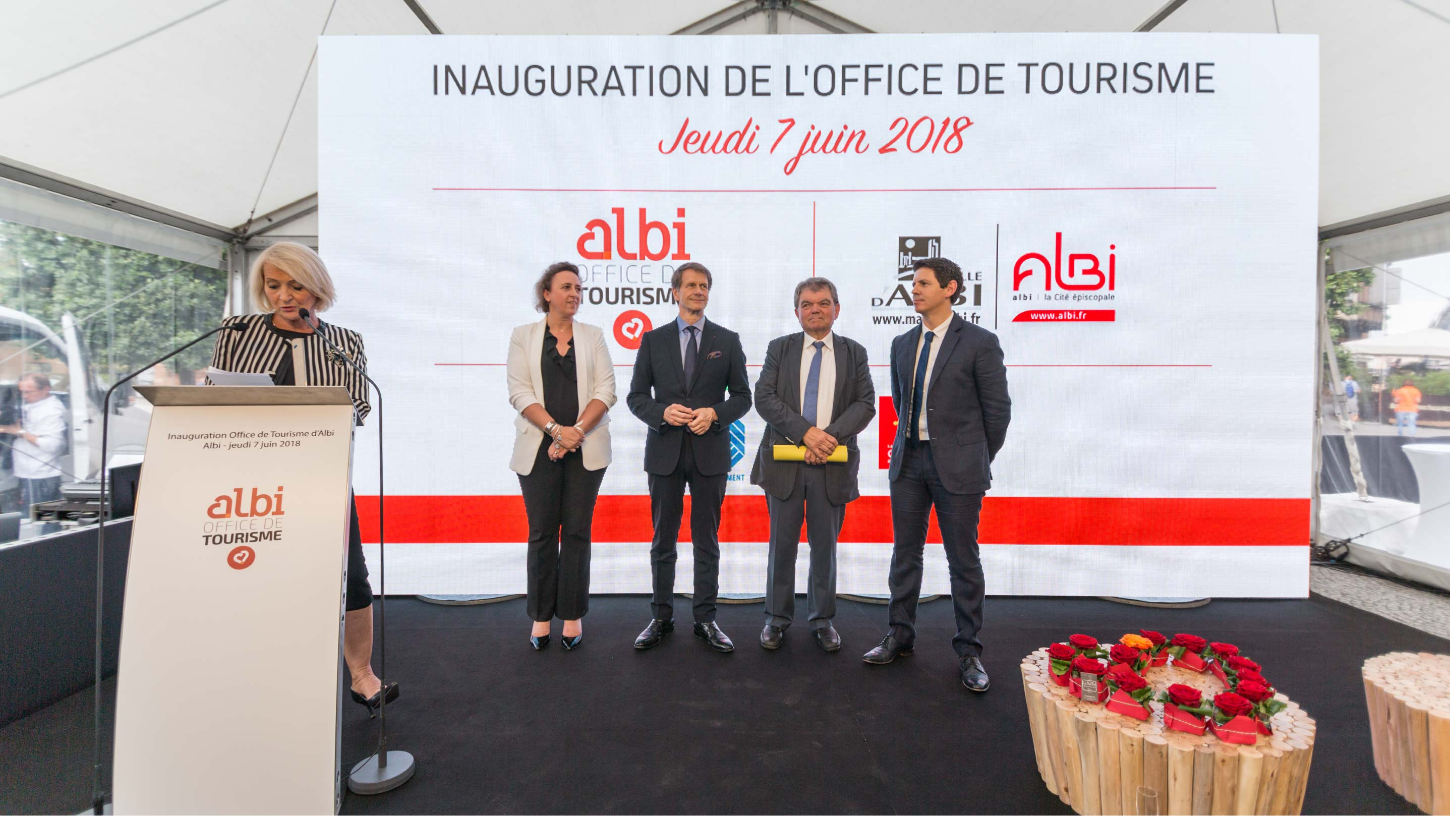 Inauguration Office de Tourisme d'Albi