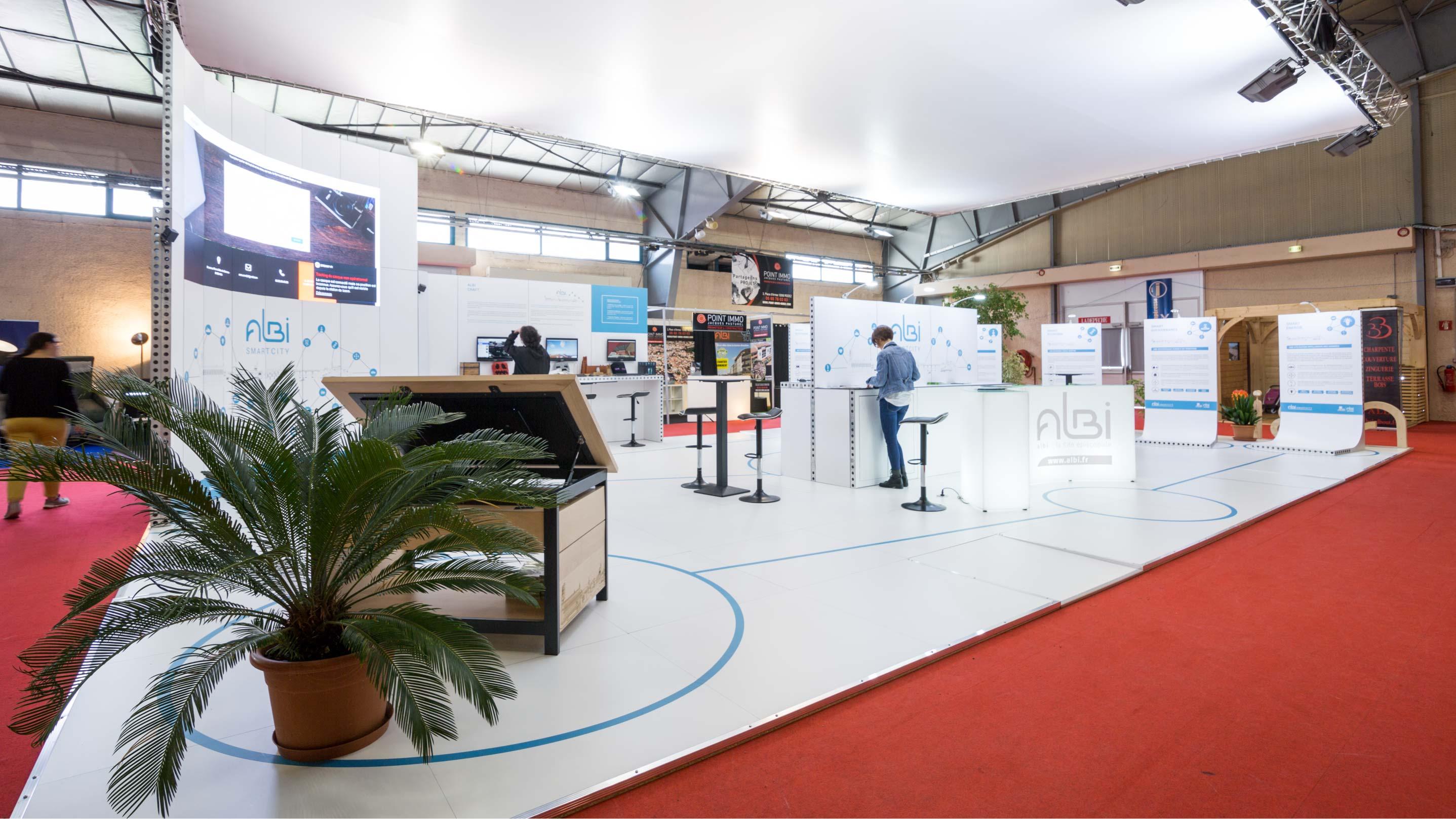 Stand Mairie d'Albi foire économique d'Albi