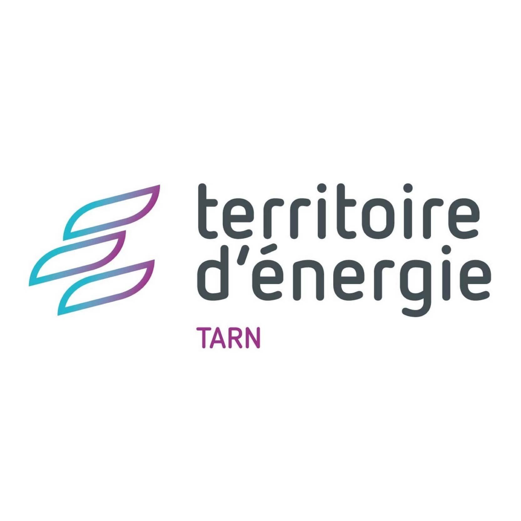 LOGO TERRITOIRE D'ENERGIE DU TARN