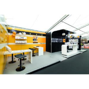 conception, réalisation et installation de stand sur mesure